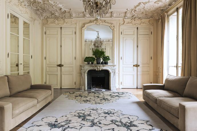 the rug company debuts a new collection with elie saab. Black Bedroom Furniture Sets. Home Design Ideas