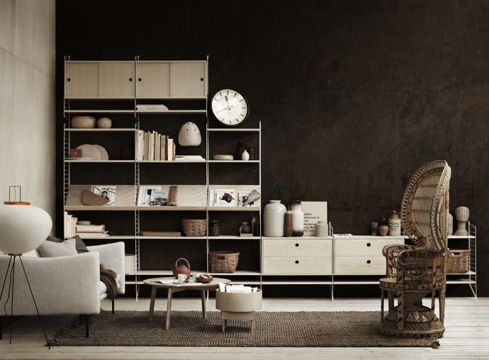 scandi design string furniture now in sa. Black Bedroom Furniture Sets. Home Design Ideas