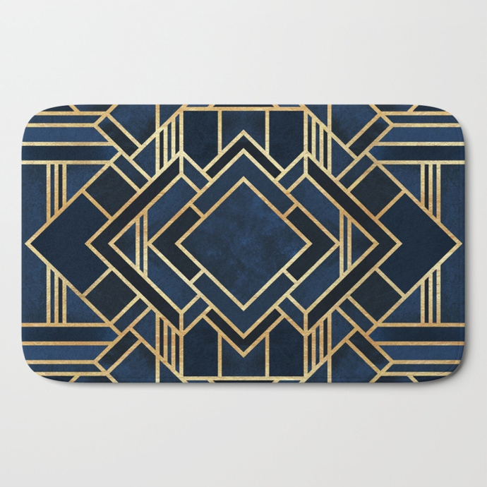 art-deco-fancy-blue-bath-mats