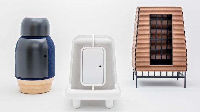 slideshow furniture pieces futuristic