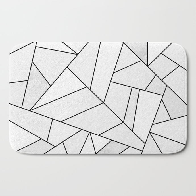 white-stone--black-lines-bath-mats