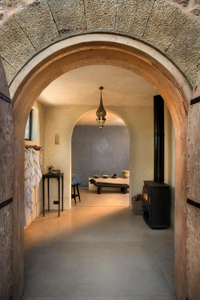 The spa is a sequence of interleading sensory journeys in this little jewel of a building.