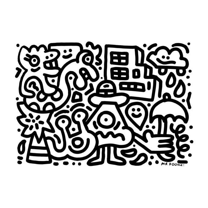 Mr doodle4