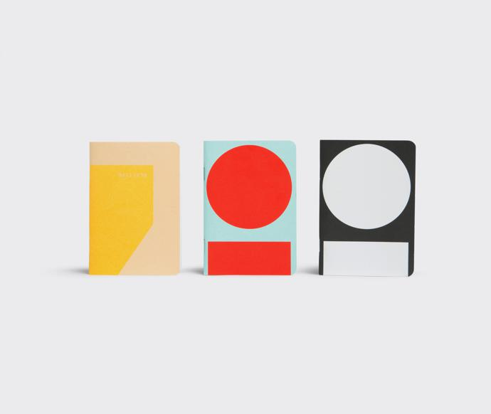 Playtype Set of Three Notebooks