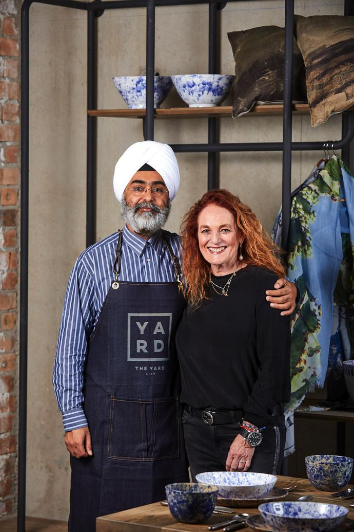 The Yard co-founders GP Singh and Abigail Bisogno.