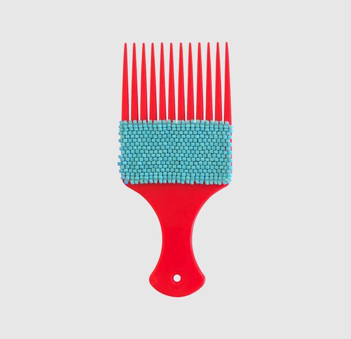 Red Rake Blue Beads – R350