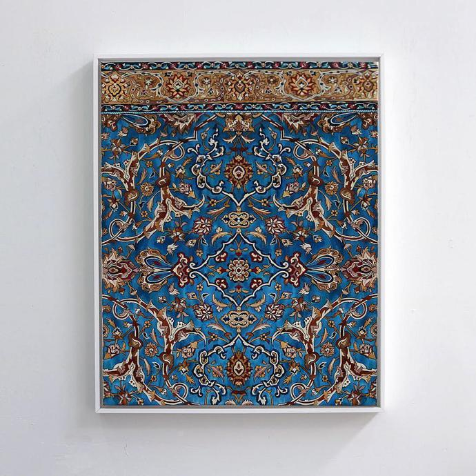New Hand Painted Persian Carpets By Jason Seife