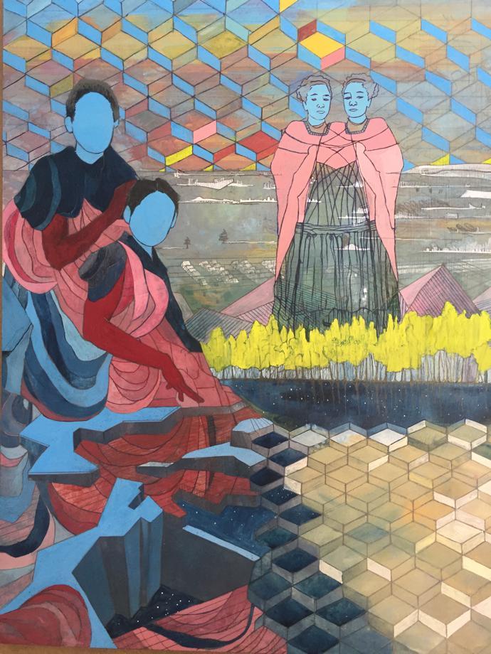 Pamela Phatsimo Sunstrum – The Buffalo's Wife (TIWANI CONTEMPORARY)