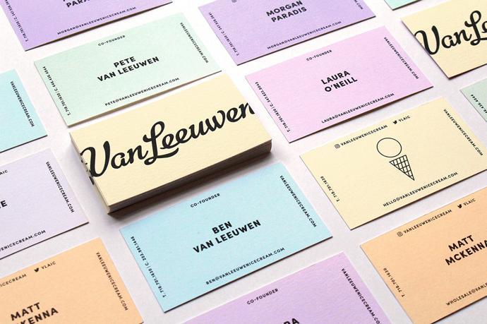 Identity for Van Leeuwen Artisan Ice Cream