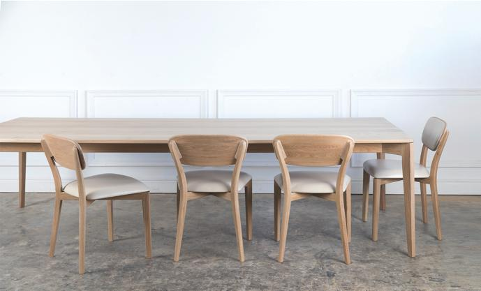 Ivor Chairs and Table in Oak.