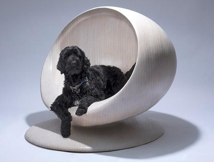 Dog house by Zaha Hadid Design.