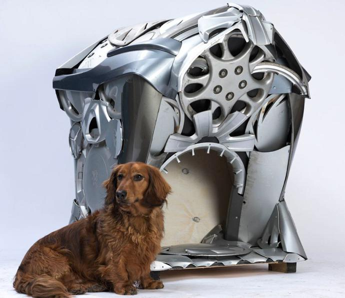 Dog house by Ptolemy Elrington.