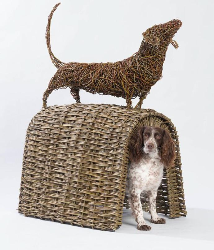 Dog house by Serena de la Hey.