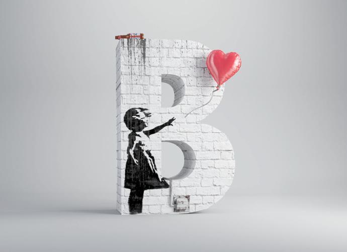 B – Banksy