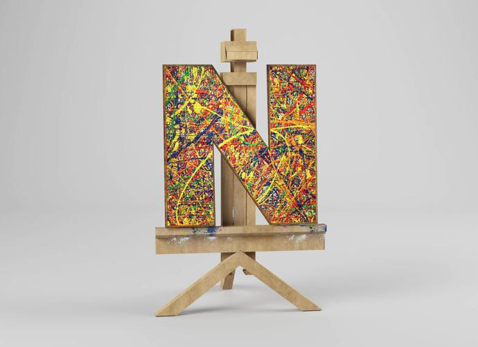 N – Jackson Pollock