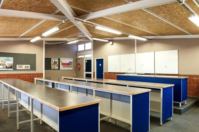 Clarens Primary School Lab