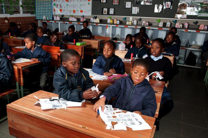 Clarens Primary School classroom 1