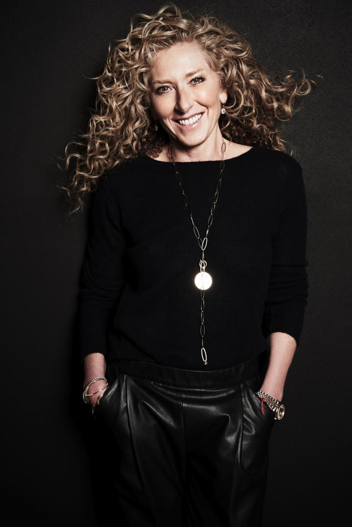 Interior designer Kelly Hoppen.