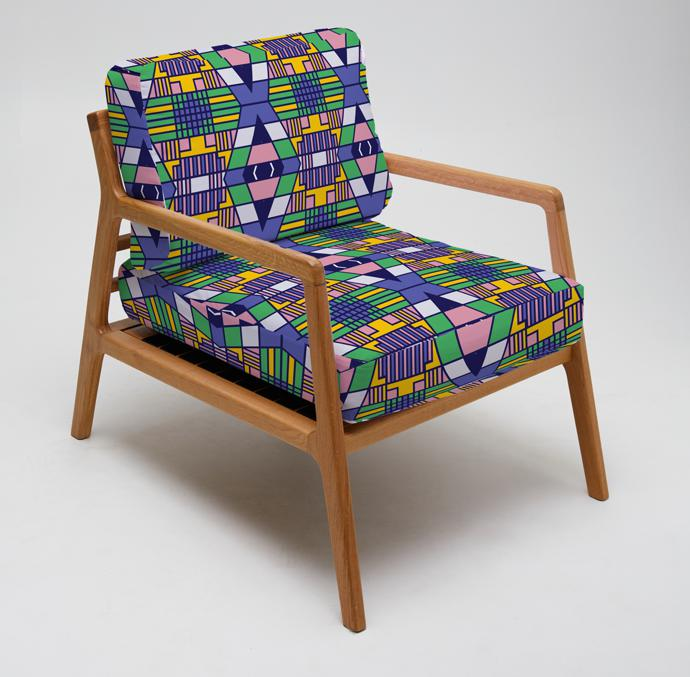 LulasClan textile chair.