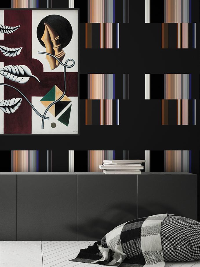 mock up poster frame in interior background, Scandinavian style,