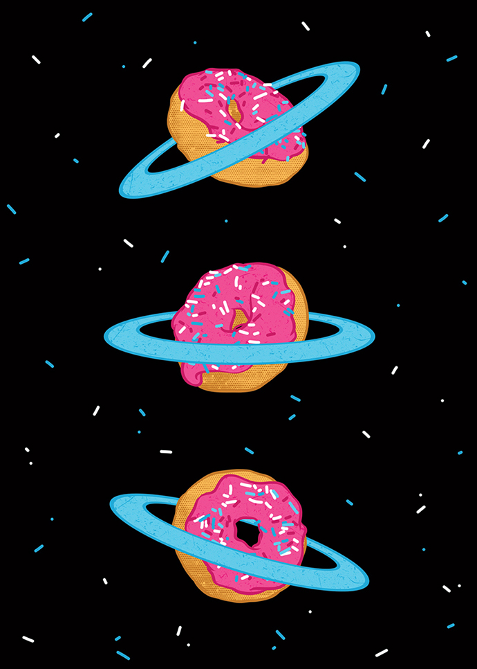 Sugar Rings of Saturn