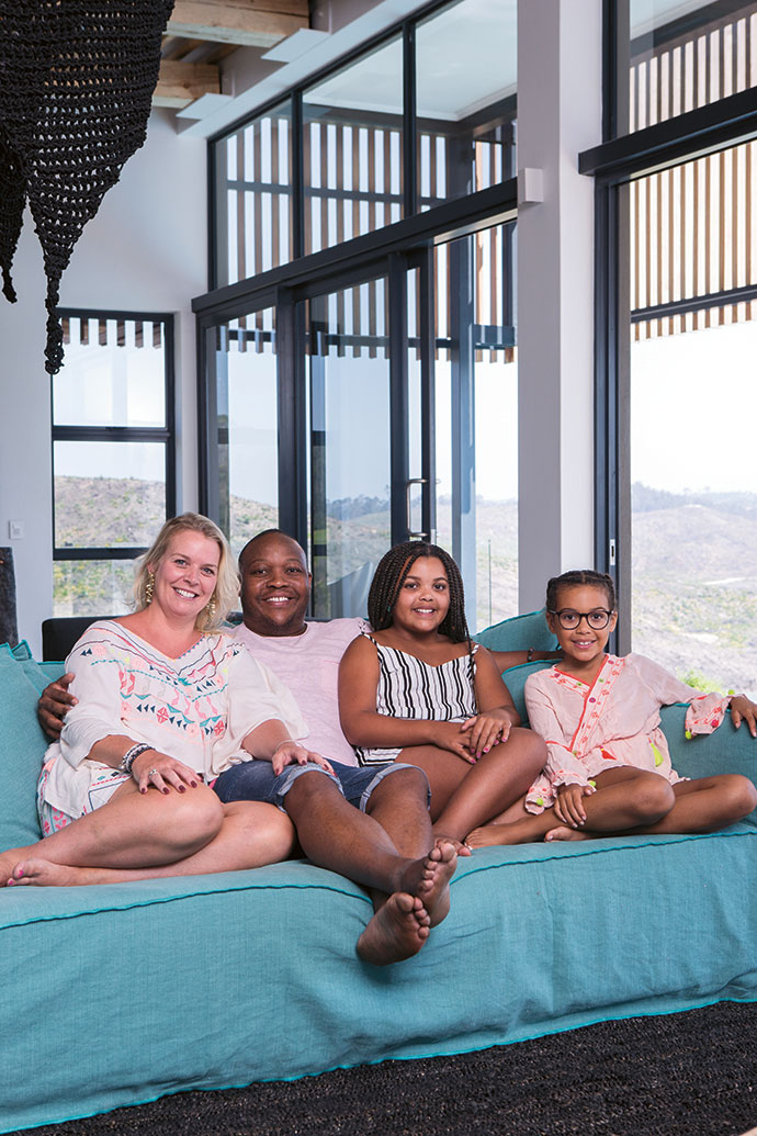 Viki, Paul, Olivia and Holly Spambo live in the UK but visit South Africa regularly.