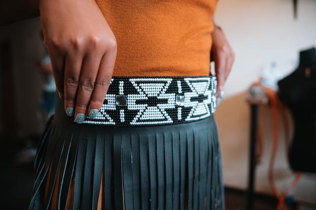 A belt from Lashongwe.
