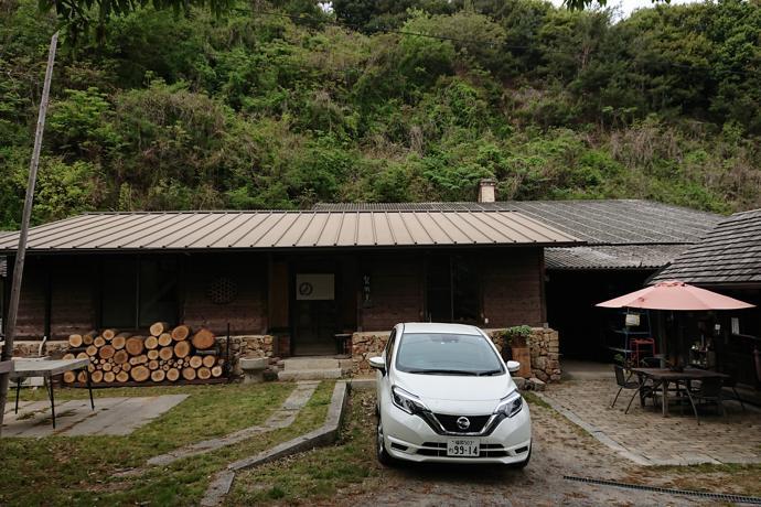 Accommodation at a Bizen-ware pottery studio, Okayama Prefecture