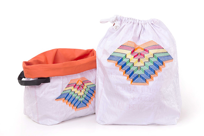 Soft basket & Laundry bag Fan multi