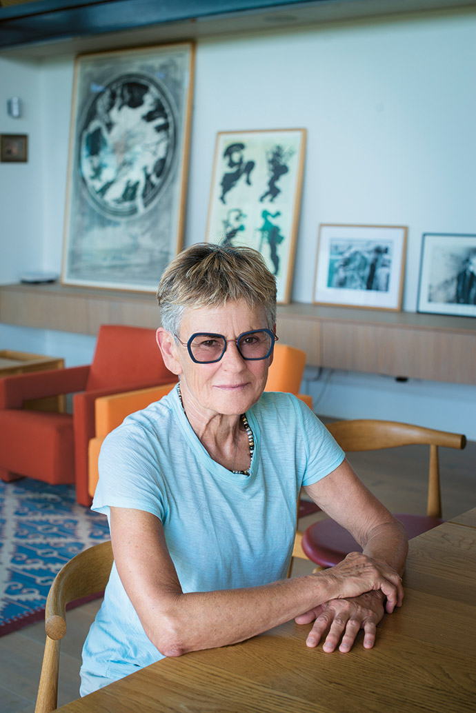 """Shawn Slovo says she fantasised about this move for years, but never dreamt she could make it happen. """"It is early days, but I am pretty spellbound and haven't looked back since the moment I arrived."""""""