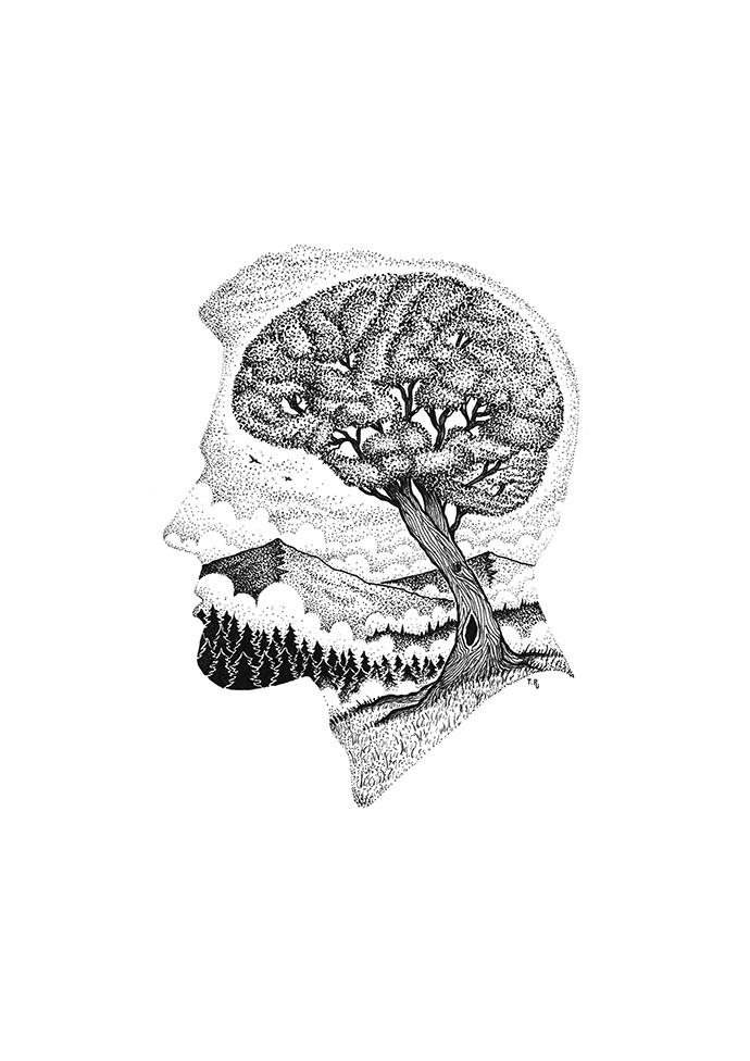head tree